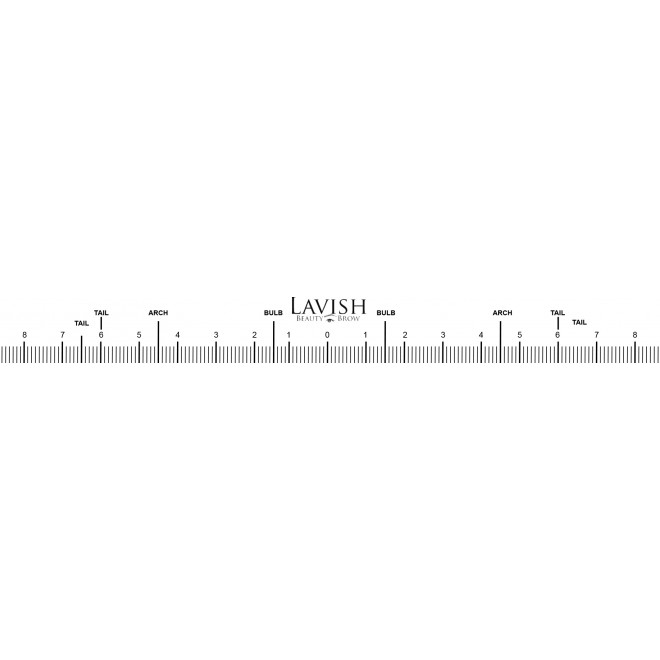 Lavish Beauty's Brow Rulers
